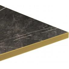 Calypso Brass Black Marble