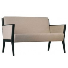 Cinquanta Double Lounge with Upholstered Side Panels